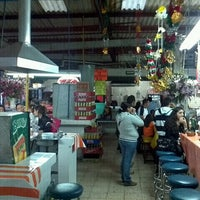 Photo taken at Mercado de Comida Coyoacán by Packo A. on 9/27/2012