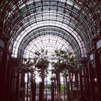Photo taken at Winter Garden Atrium by Michelle D. on 5/25/2013