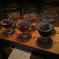 Photo taken at Migration Brewing by Sam M. on 9/23/2012