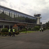 Photo taken at Radin Inten II Airport (TKG) by Omar S. on 2/19/2013