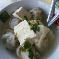 Photo taken at Bakso Cinta by Ratih D. on 1/17/2014