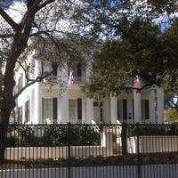 Photo taken at Texas Governor's Mansion by Kathy T. on 1/21/2013