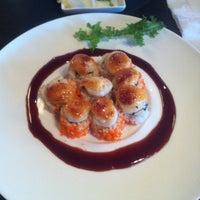 Photo taken at Sushi Wabi by Kim T. on 9/14/2012