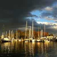 Photo taken at Mears Marina by parkerism on 10/21/2012