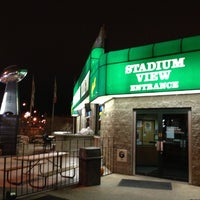 Photo taken at Stadium View Bar and Grill by Jon W. on 11/26/2012