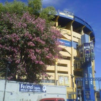 """Foto tirada no(a) Estadio Alberto J. Armando """"La Bombonera"""" (Club Atlético Boca Juniors) por Guido T. em 2/28/2013"""