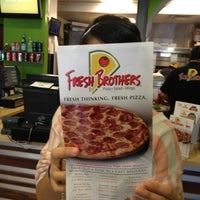 Photo taken at Fresh Brothers by Jeronimo O. on 11/21/2012