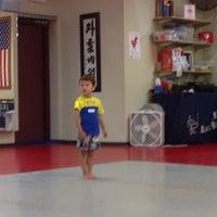Photo taken at J.K. Lee Black Belt Academy by Peter L. on 6/14/2014