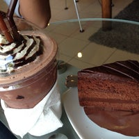 Photo taken at Coffee Me by Sujitporn Coffee & Bakery House by fernery P. on 11/17/2013