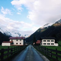 Photo taken at Obernbergersee, Tirol by Елизавета У. on 5/11/2014
