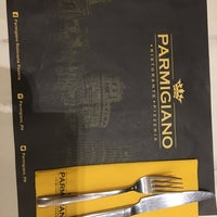 Photo taken at Parmigiano Pizzeria Ristorante by Annabelle A. on 3/17/2018