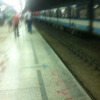 Photo taken at Al Shohadaa Metro Station by Mohamed Y. on 8/5/2013