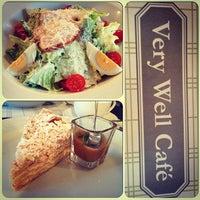 Photo taken at Very Well Café by Ксения Х. on 4/4/2013