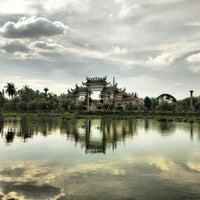 Photo taken at วัดงิ้วราย by Thawesak L. on 5/15/2015