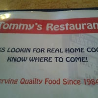 Photo taken at Tommy's Restaurant by Toya H. on 2/17/2014