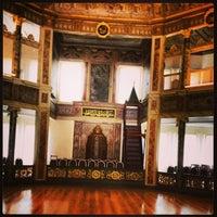 Photo taken at Galata Mawlavi House Museum by Asaf on 6/10/2013