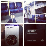 Photo taken at South Wimbledon London Underground Station by Юлия М. on 7/28/2013