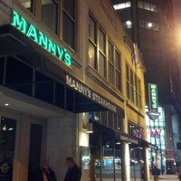 Photo taken at Manny's Steakhouse by Dan N. on 1/31/2013