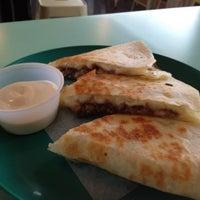 Photo taken at La Taqueria Pinche Taco Shop by Kelly M. on 9/17/2012