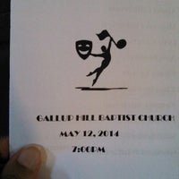 Photo taken at Gallup Hill Baptist Church by Aziza M. on 5/12/2014