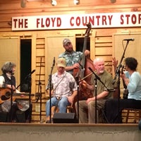 Photo taken at Floyd Country Store by Lies on 4/25/2015