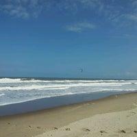 Photo taken at Praia dos Paraguaios by Camilla C. on 9/30/2012