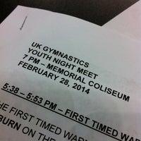 2/28/2014 tarihinde Christian S.ziyaretçi tarafından Memorial Coliseum'de çekilen fotoğraf