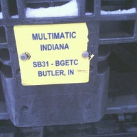 Photo taken at Multimatic Indiana Inc. by Frank R. on 12/31/2013
