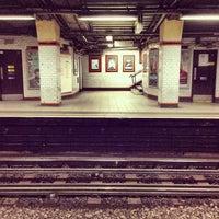 Photo taken at Euston Square London Underground Station by Prodromos S. on 2/24/2013