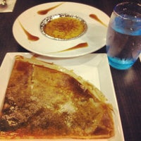Photo taken at Entre-Nous Creperie by Nur B. on 12/22/2012
