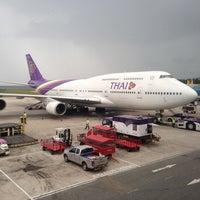 Photo taken at Phuket International Airport (HKT) by :: Pathrakit :: on 4/27/2013