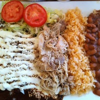 Photo taken at El Huarache Loco by J Z. on 11/16/2012