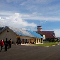 Photo taken at Tampa Padang Airport (MJU) by Gunawan S. on 4/15/2013