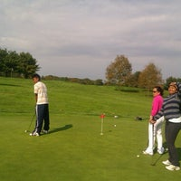 Photo taken at Green Knoll Golf Course by Noli B. on 10/14/2012
