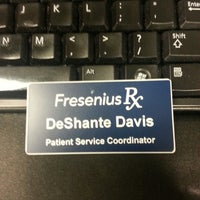 Photo taken at Fresenius Medical Care by BlaqueBeauty20 D. on 10/10/2013