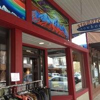 Photo taken at Stumptown Snowboard Shop by Jennifer M. on 4/11/2013