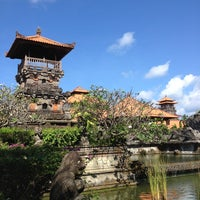 Photo taken at Ayodya Resort Bali by Marie E. on 7/30/2013