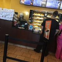 Photo taken at Dunkin' Donuts by Linzeye B. on 10/10/2017