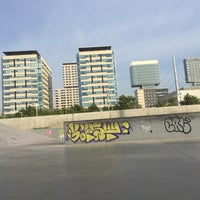 Foto tomada en Skatepark del Forum por Linzeye B. el 7/18/2017