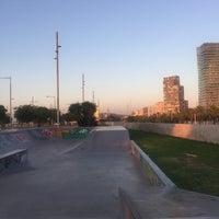 Foto tomada en Skatepark del Forum por Linzeye B. el 9/5/2017