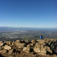 Photo taken at Mission Peak (top) by Cole G. on 1/26/2013
