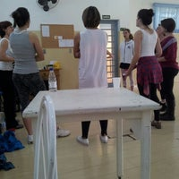 Photo taken at Academia De Dança Studio A by Danilo C. on 10/13/2012