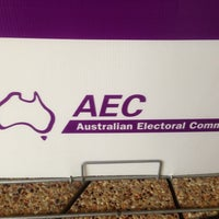 Photo taken at Australian Electoral Commission by Peter T. on 9/3/2013