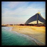 Photo taken at Jumeirah Beach Hotel by Navin K. on 3/3/2013