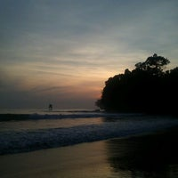 Photo taken at Pantai Batu Karas by dienz on 3/29/2013