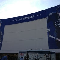 Photo taken at Ford Thunder Alley - West Plaza, Tampa Bay Times Forum by Christina B. on 2/21/2013