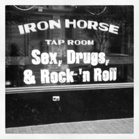 Photo taken at Iron Horse Tap Room by suicide_blond on 4/28/2013