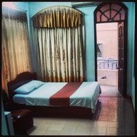 Photo taken at Phong Nha Hotel by Michael N. on 1/15/2014