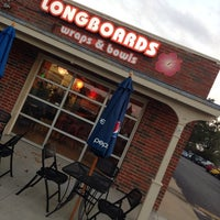Photo taken at Longboards by Scott B. on 10/11/2013