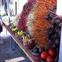 Photo taken at Fulton Street Farmer's Market by Karen C. on 7/6/2013